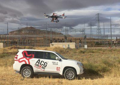 ACG Drone_Inspección Subestación Eléctrica