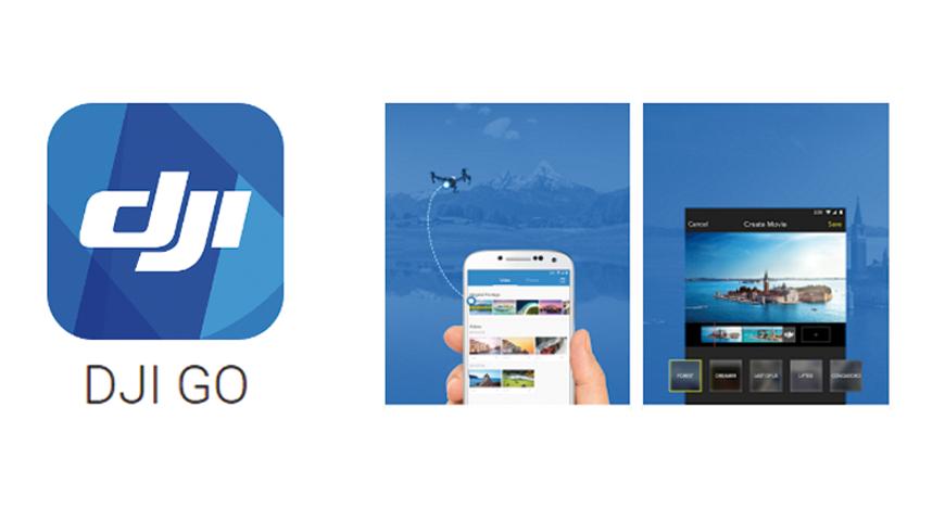 DJi app GO