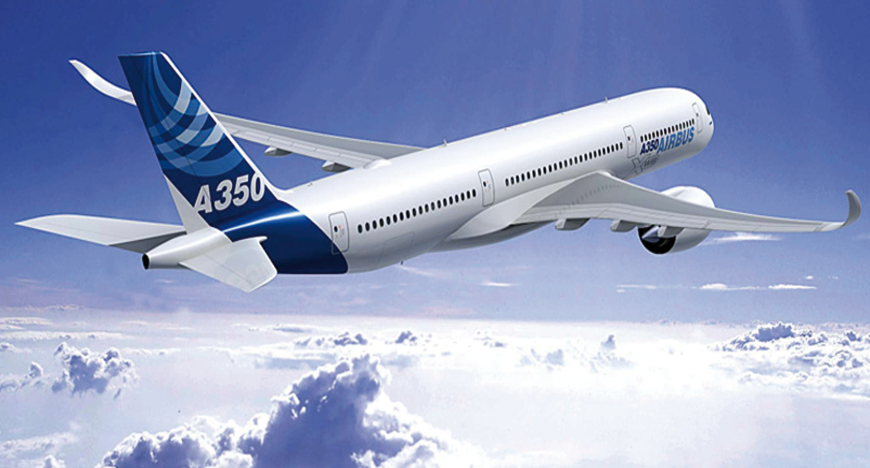 Airbus revisa sus aviones A350 con drones