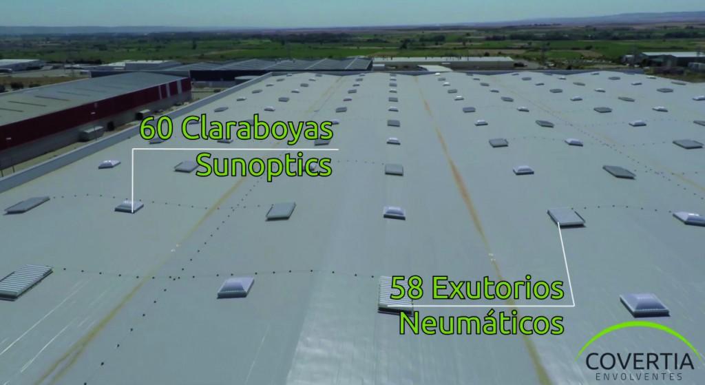 COVERTIA - Claraboyas y Exutorios