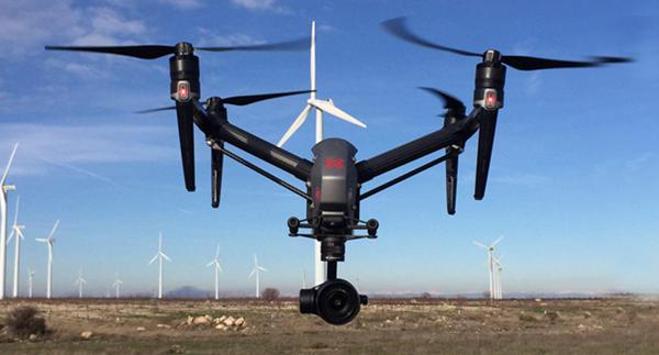 Operadora de drones - DJI Inspire 2
