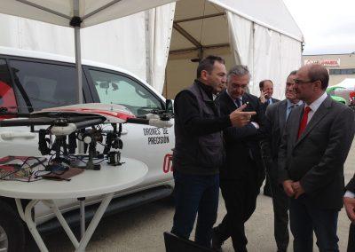 ACG Drone con D. Javier Lambán en VALGA