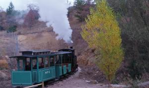 Tren minero en marcha