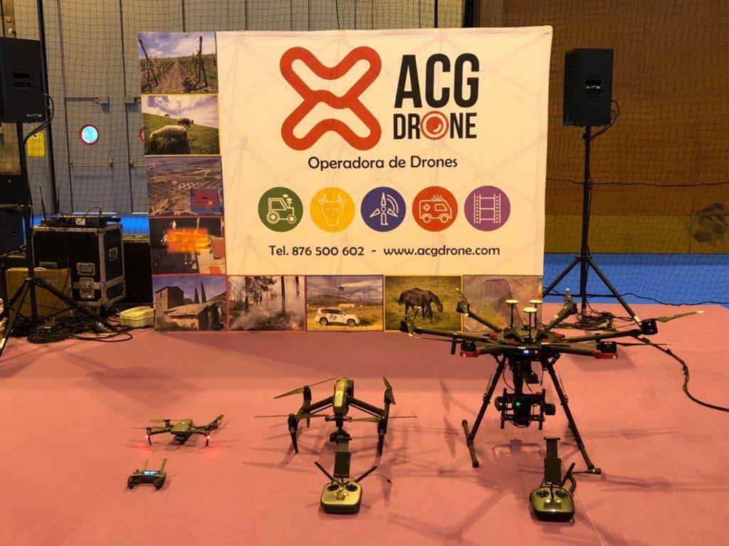 ACG Drone_ Matelec Industry 2018_Drones para la demo