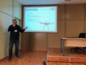 ACG Drone_Guillermo de Roda en un momento de la presentación durante Tecnovid 2018_Viñedo y Olivar_2