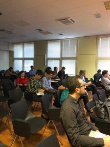 ACG Drone_Sonea_Público asistente a la charla Teledetección con drones durante Tecnovid2019_Viñedo y Olivar