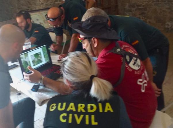 ACG Drone en la búsqueda de Jesús Río
