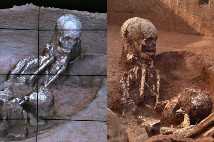 Burials uncovered