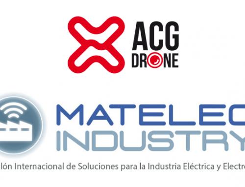 ACG Drone participó en Matelec Industry 2018