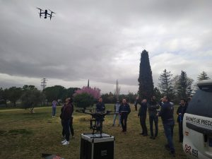 ACG Drone_Demo de vuelo con DJI Inspire2