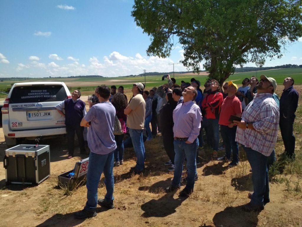 Drones en el sector agrario