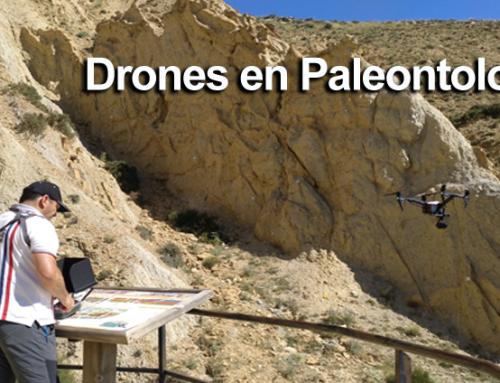 Drones en paleontología y arqueología