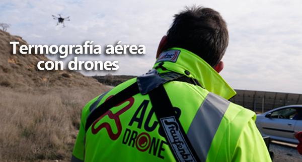 Termografía con drones - ACG Drone