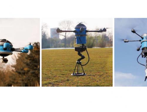 MKD, un dron que puede detectar y detonar minas terrestres