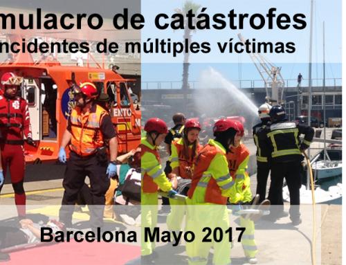 ACG Drone participa en el simulacro IEM 2017 en Barcelona