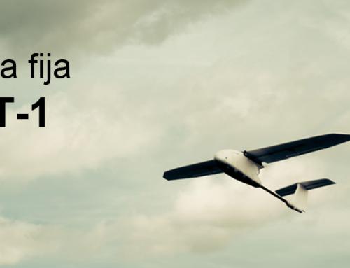 Dron ala fija T-1 de Proskytec