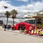 Simulacro emergencia Port Fórum Barcelona