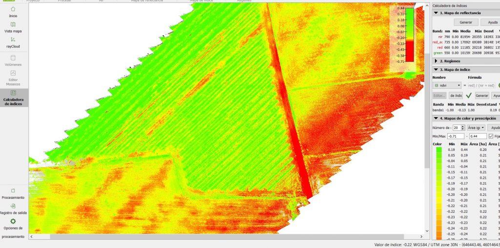 Satélite _ imagen multiespectral