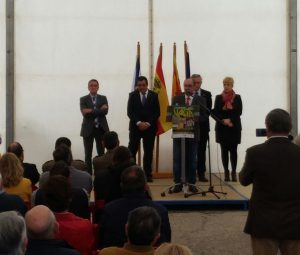 Inauguración VALGA por Javier Lambán
