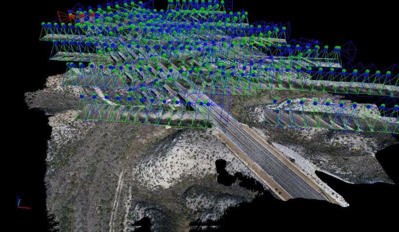 ACG Drone_topografía_nube de puntos