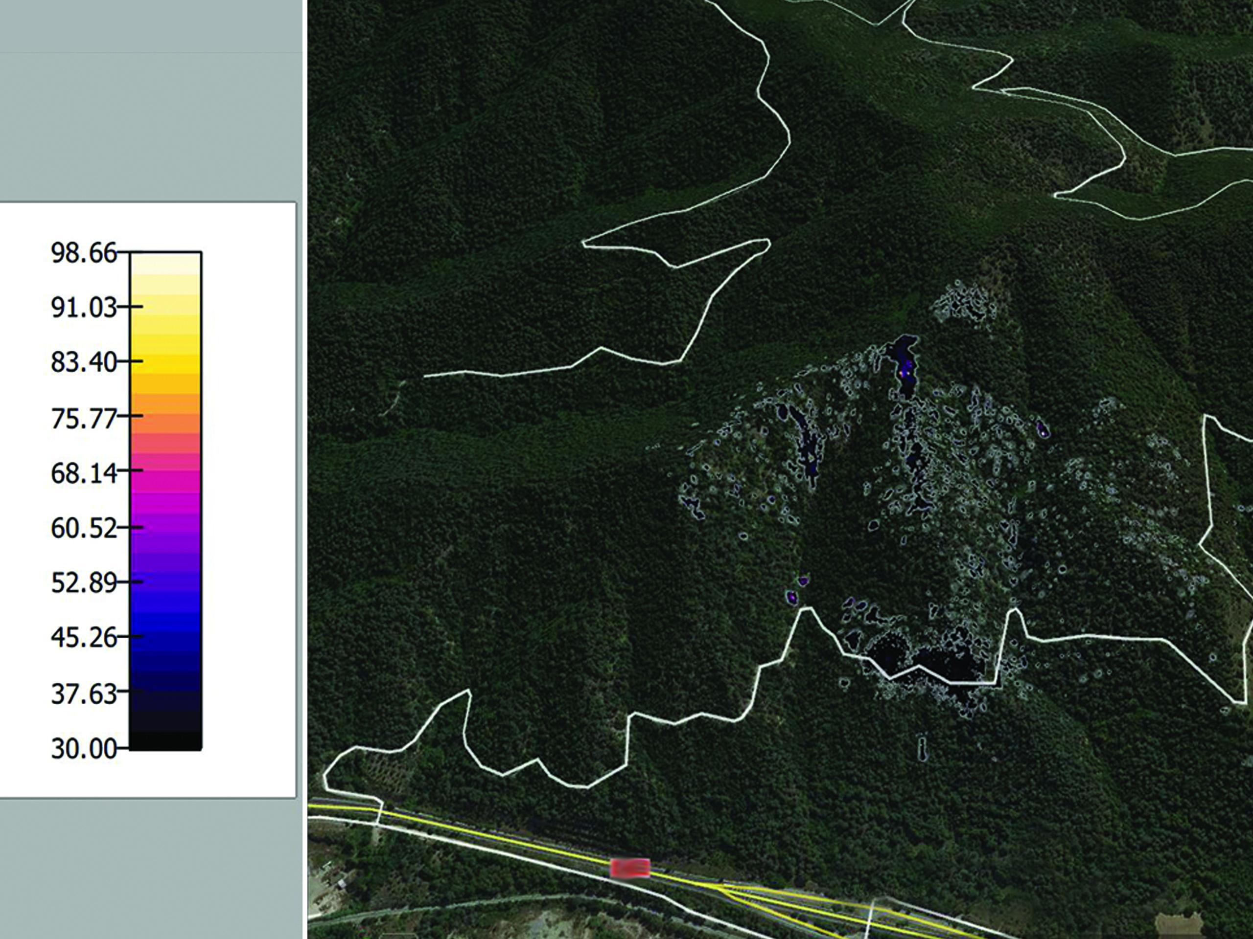 ACG Drone_Localización de puntos calientes en incendios