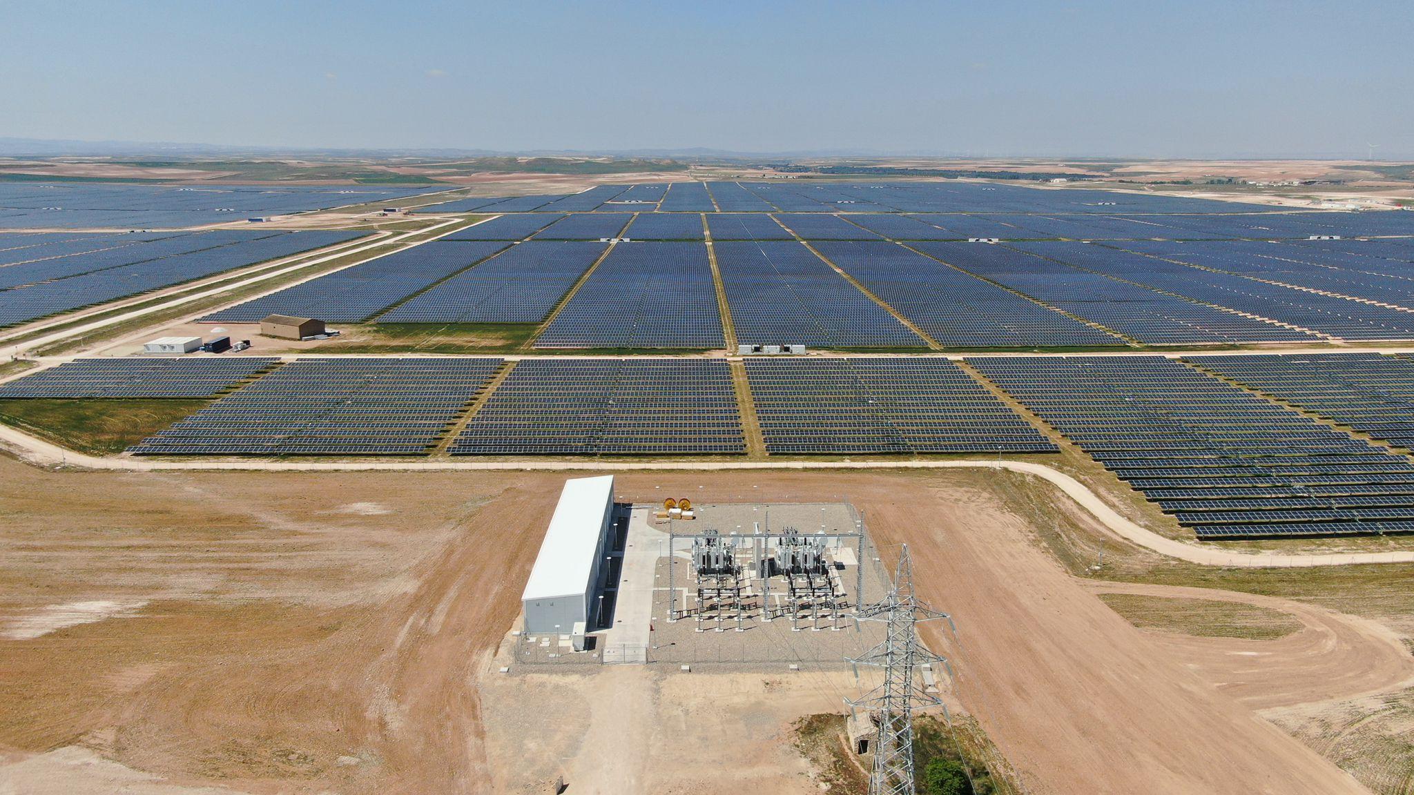 ACG Drone - Inspección en planta fotovoltaica