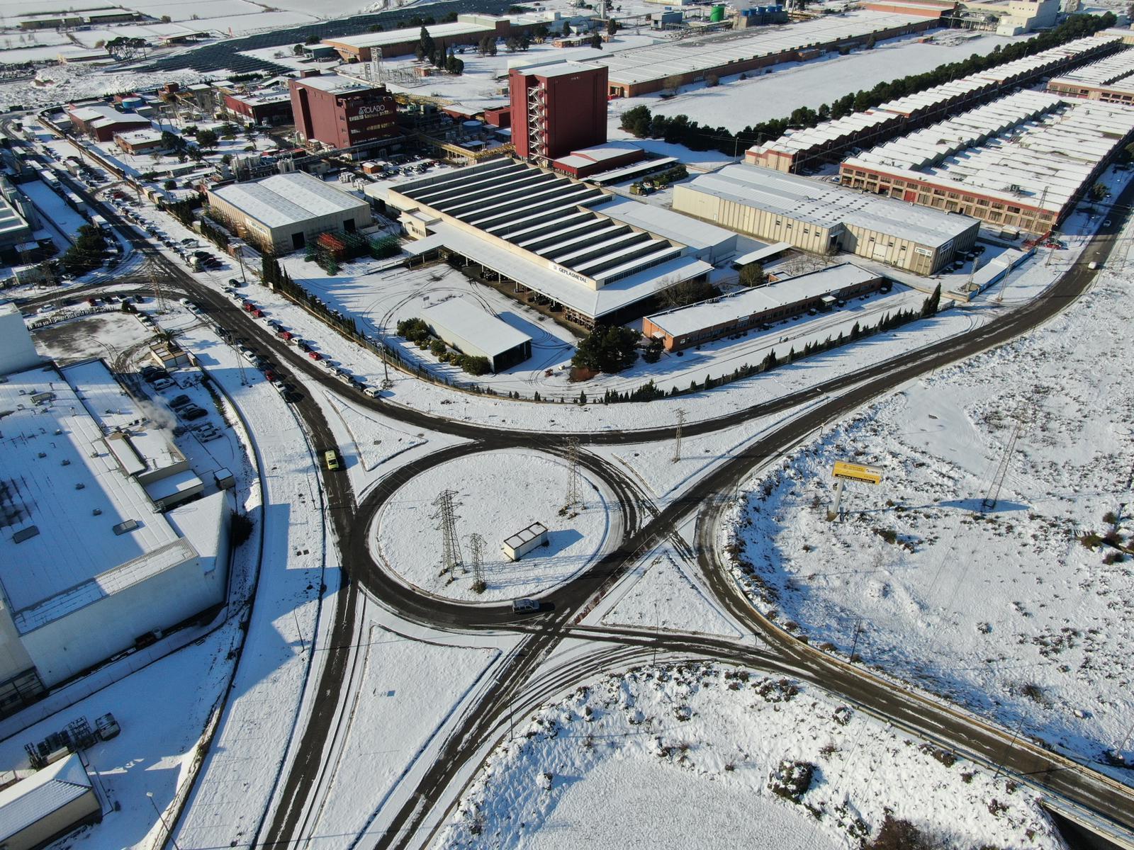 ACG Drone - vuelos en la nieve durante Filomena
