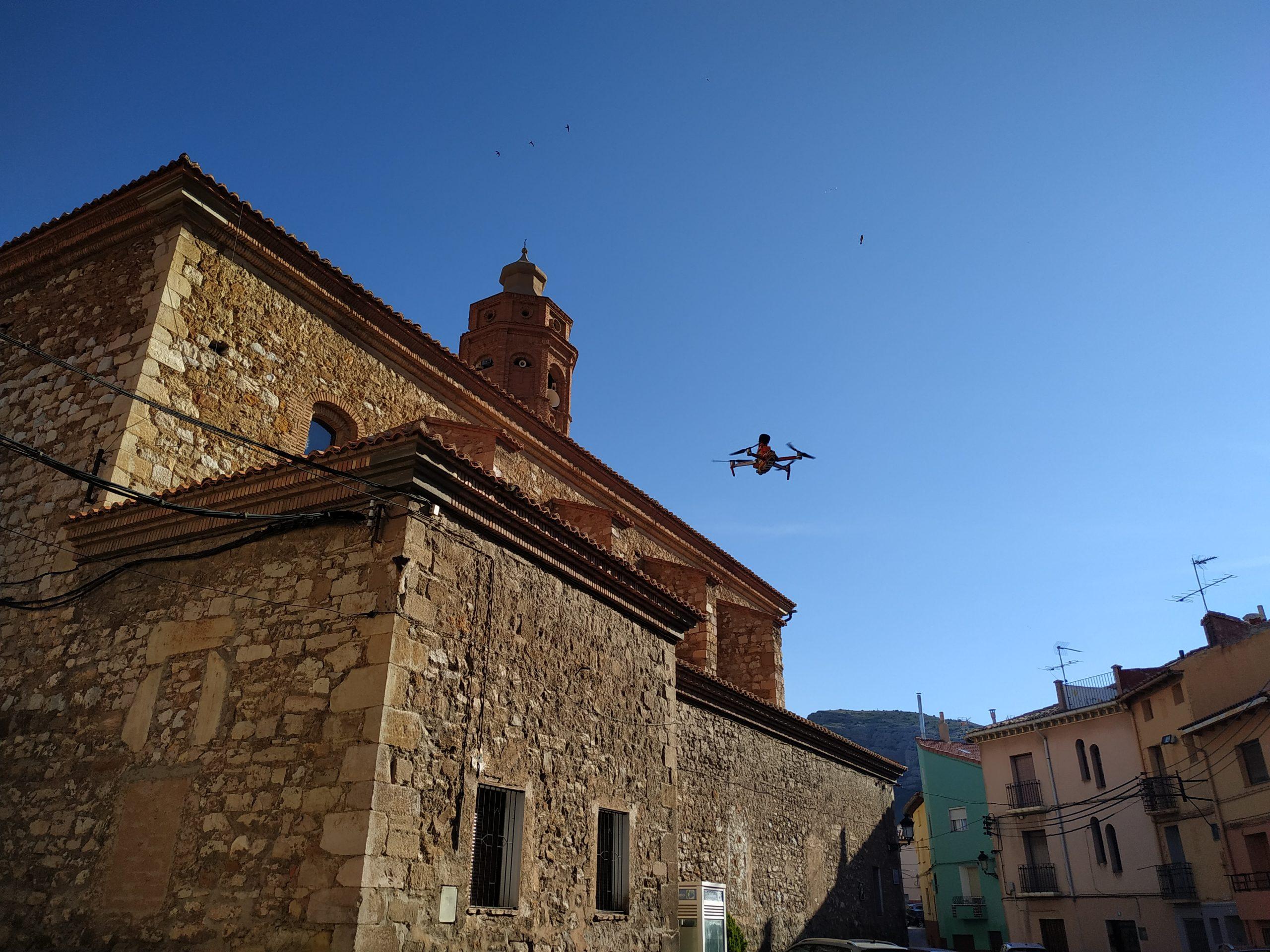 ACG Drone - Vuelo urbano con drones
